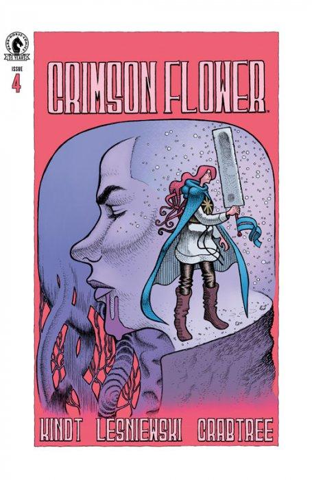 Crimson Flower #4