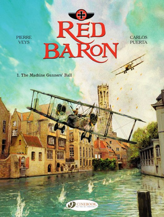 The Red Baron #1-3 Complete