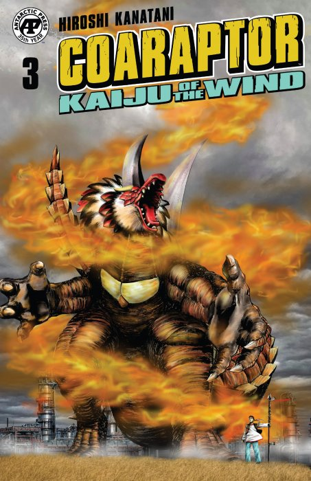 Coaraptor #3 - Kaiju of the Wind