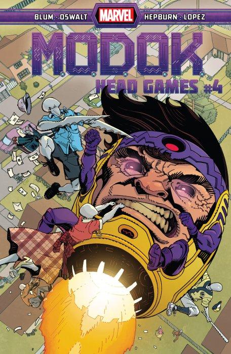 M.O.D.O.K. - Head Games #4