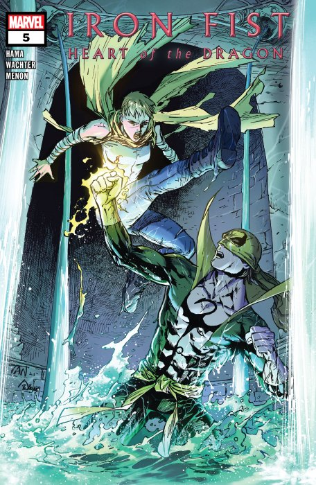 Iron Fist - Heart of the Dragon #5