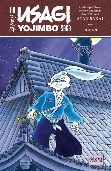 The Usagi Yojimbo Saga Book #9