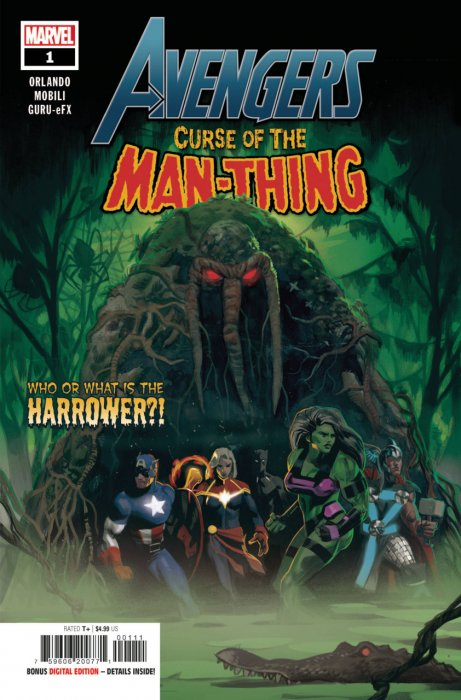 Avengers - Curse of the Man-Thing #1