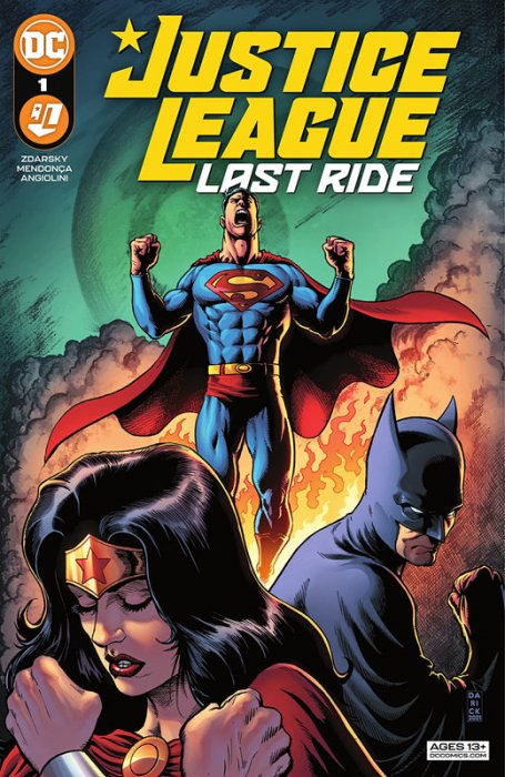 Justice League - Last Ride #1