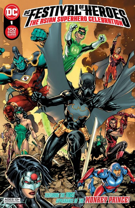 DC Festival of Heroes - The Asian Superhero Celebration #1