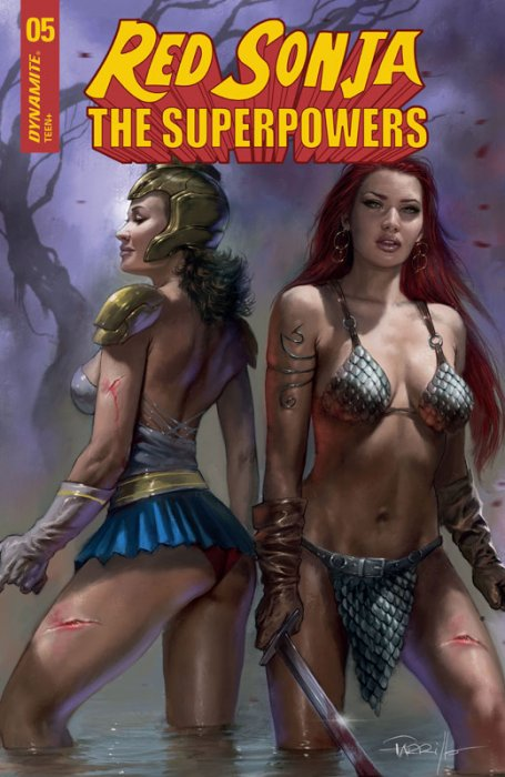 Red Sonja - The Super Powers #5