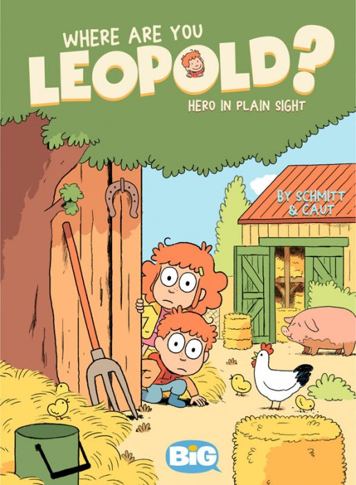 Where are You, Leopold - Book 2 - Hero in Plain Sight