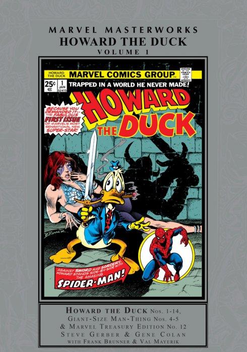 Marvel Masterworks - Howard the Duck Vol.1