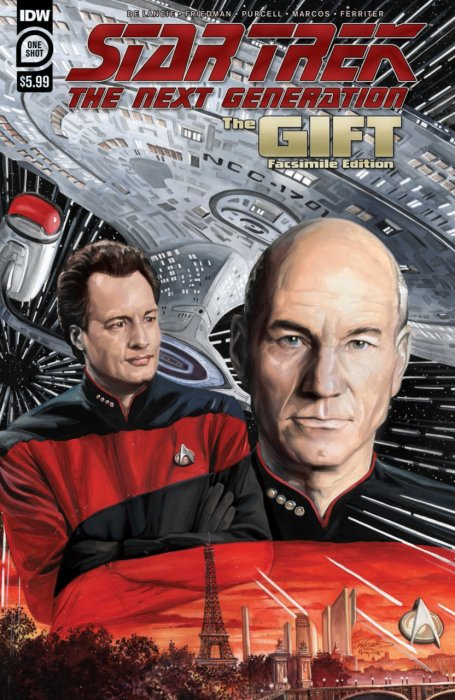 Star Trek - The Next Generation - The Gift Facsimile Edition #1