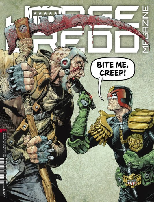 Judge Dredd Megazine #432