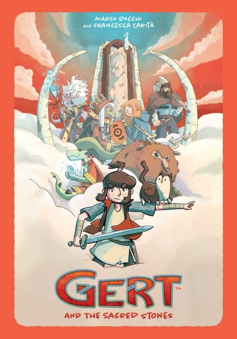 Gert and the Sacred Stones #1 - GN