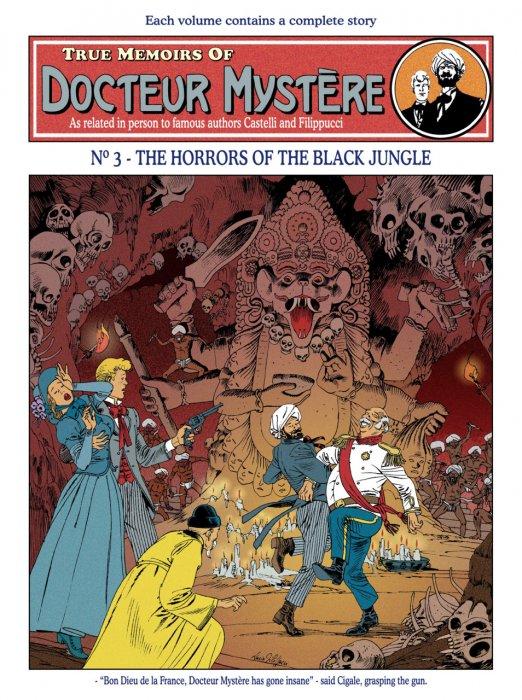 Docteur Mystère #3 - The Horrors of the Black Jungle