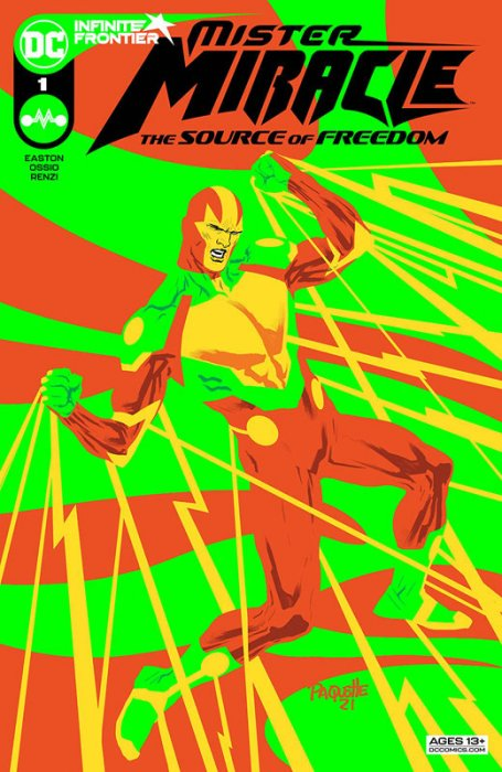Mister Miracle - The Source of Freedom #1