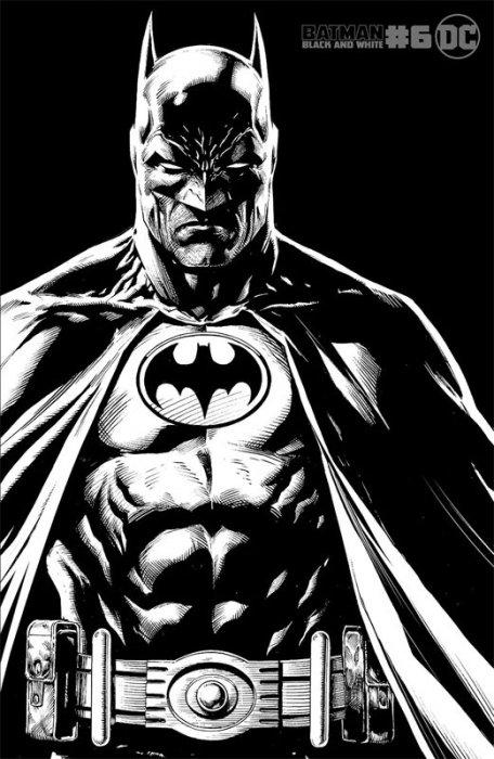 Batman Black & White #6