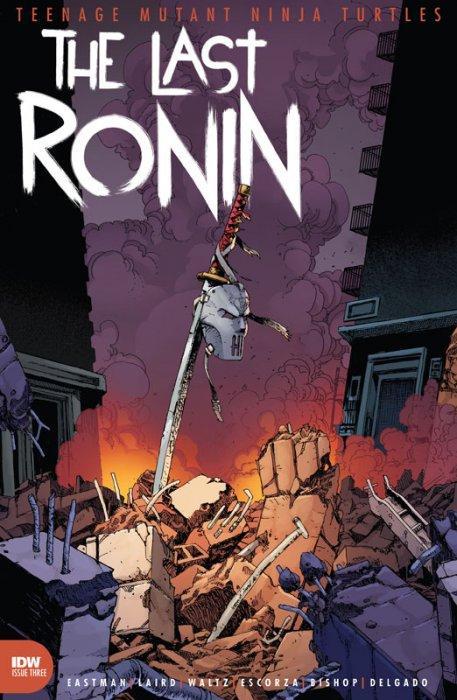 Teenage Mutant Ninja Turtles - The Last Ronin #3