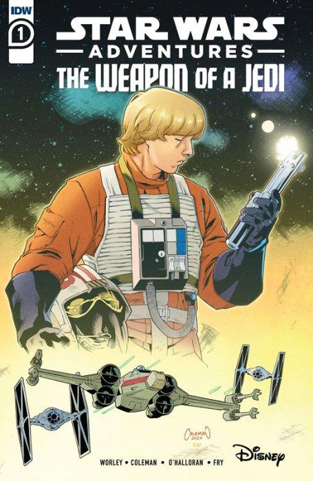 Star Wars Adventures - Weapon of a Jedi #1