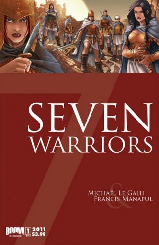 7 Warriors #1-3 Complete