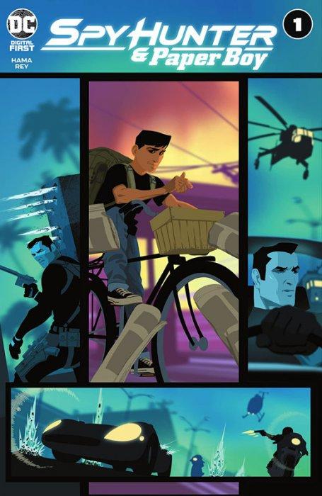 Spy Hunter & Paper Boy #1-6 Complete
