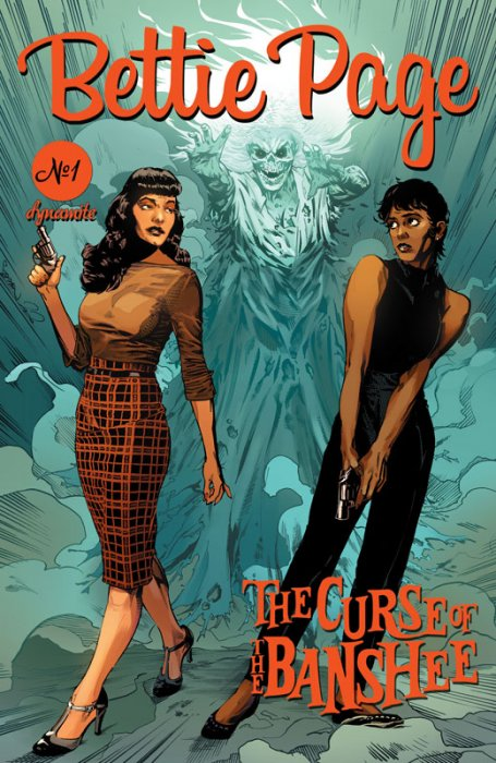 Bettie Page and the Curse of the Banshee #1