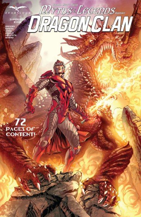 Grimm Fairy Tales Myths & Legends Quarterly - Dragon Clan #1