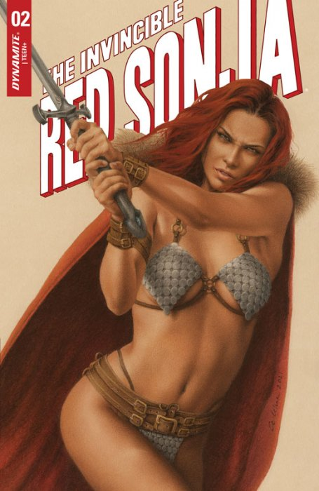 The Invincible Red Sonja #2