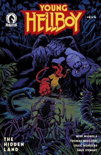 Young Hellboy - The Hidden Land #4