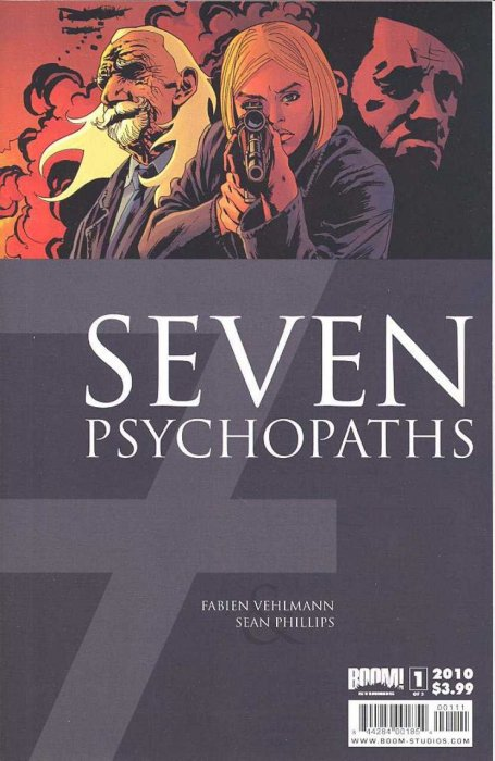 7 Psychopaths #1-3 Complete
