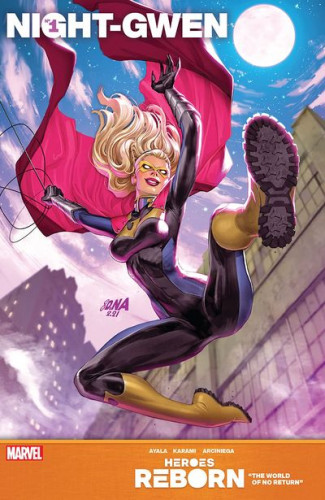 Heroes Reborn - Night-Gwen #1