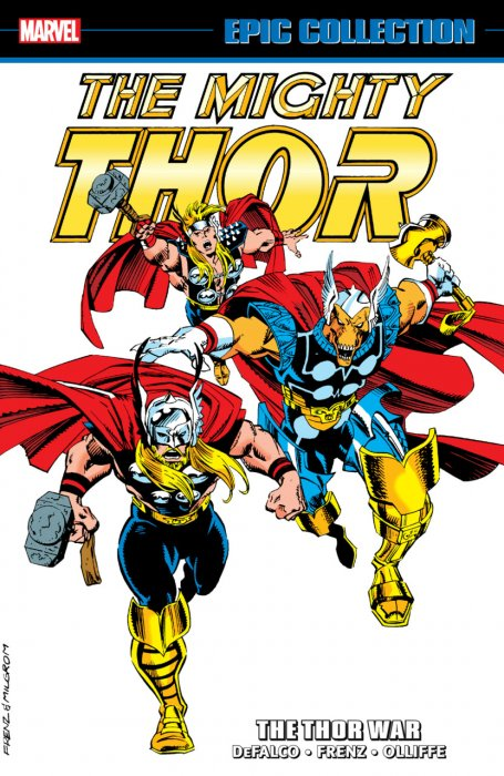 Thor Epic Collection Vol.19 - The Thor War
