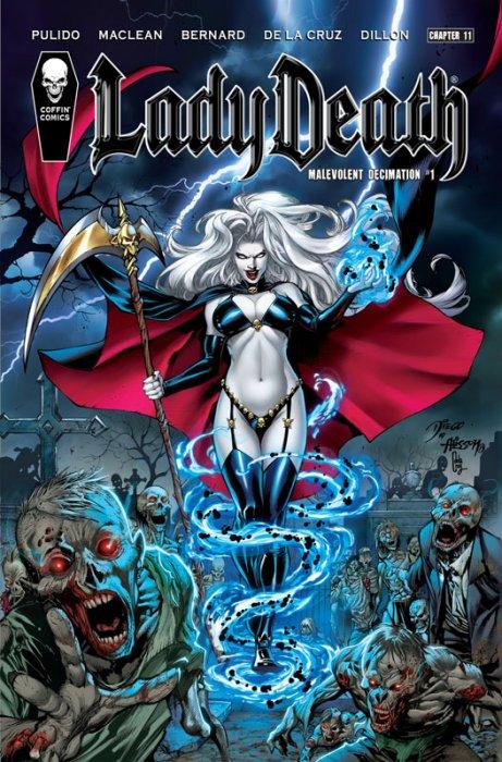 Lady Death #11 - Malevolent Decimation #1