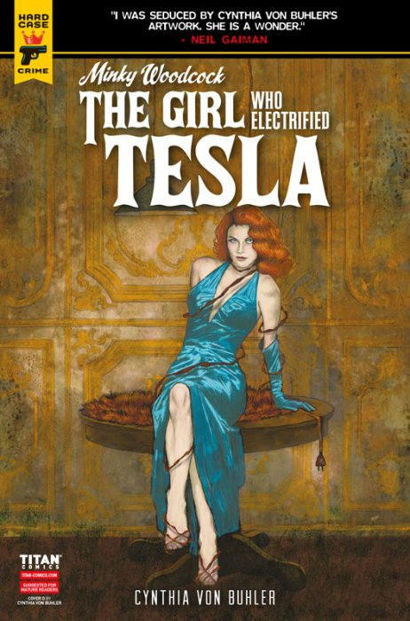 Minky Woodcock - The Girl Who Electrified Tesla #1-3
