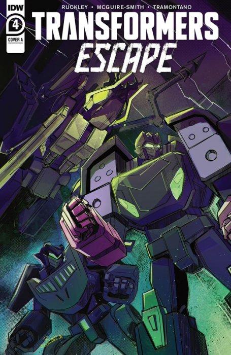 Transformers Escape #4