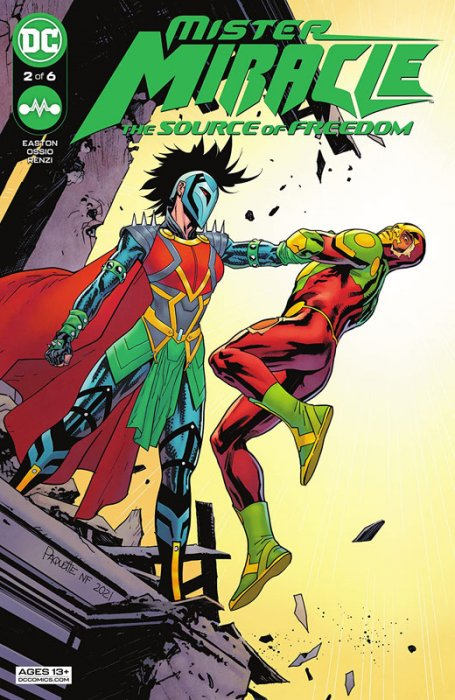 Mister Miracle - The Source of Freedom #2
