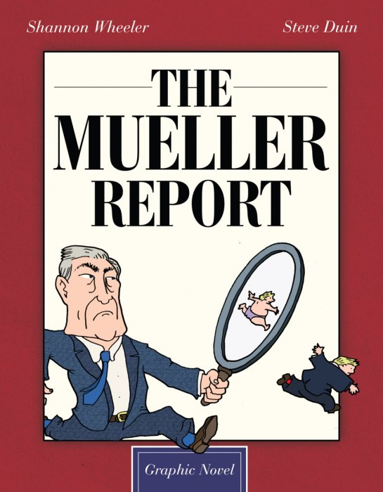 The Mueller Report Graphic Novel #1 - GN