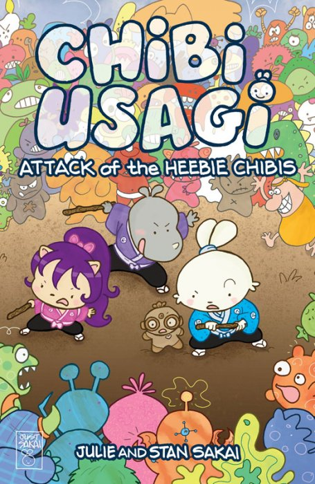 Chibi-Usagi - Attack of the Heebie Chibis #1
