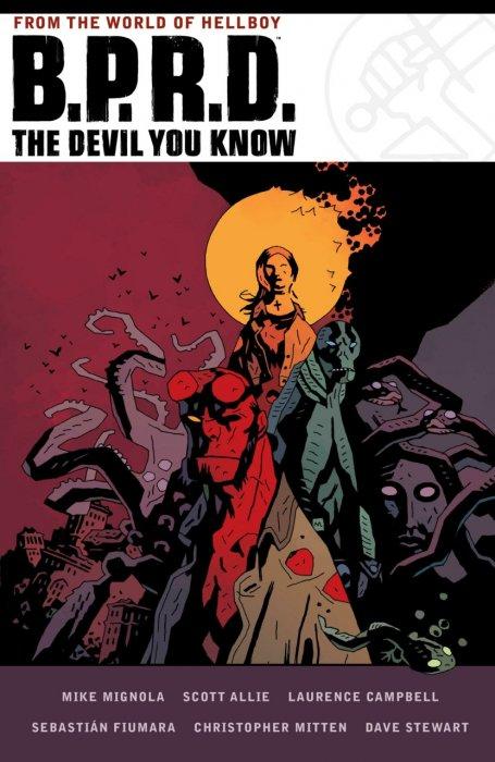 B.P.R.D. The Devil You Know Omnibus #1 - HC