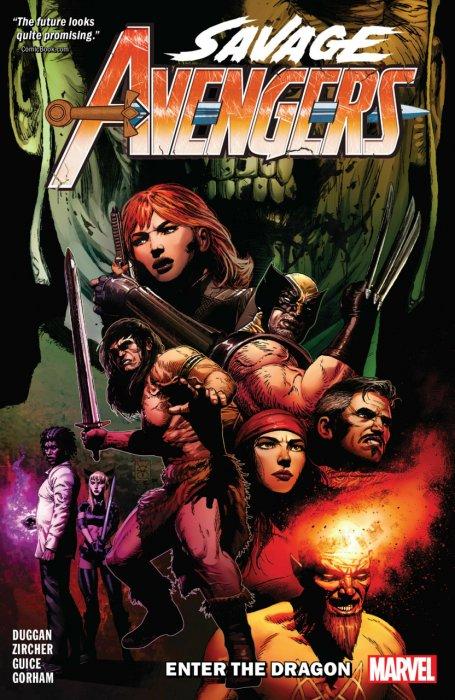 Savage Avengers Vol.3 - Enter The Dragon