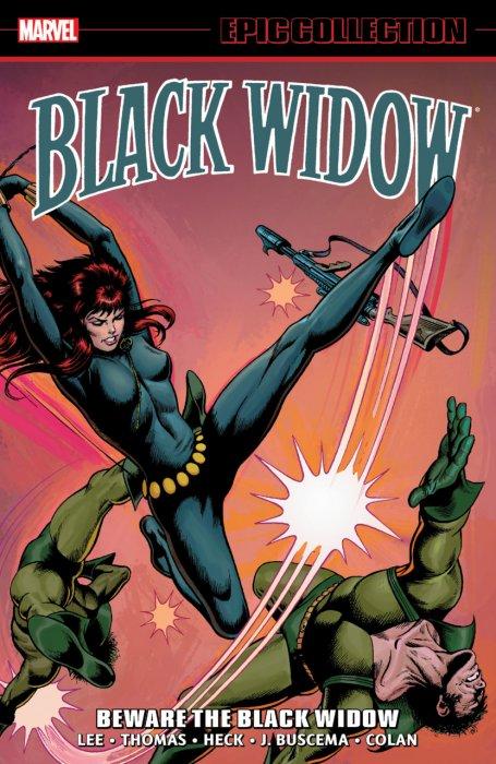 Black Widow Epic Collection Vol.1 - Beware The Black Widow