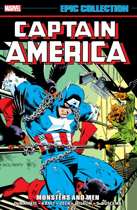 Captain America Epic Collection Vol.10 - Monsters and Men