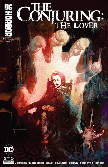 DC Horror Presents - The Conjuring - The Lover #2