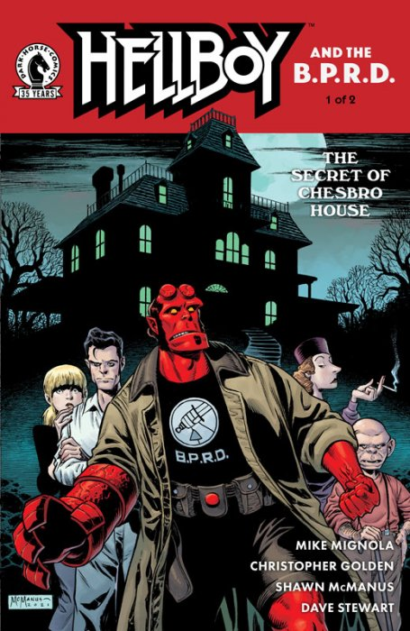 Hellboy and the B.P.R.D. - The Secret of Chesbro House #1