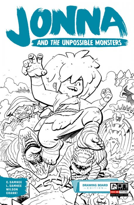 Jonna and the Unpossible Monsters - Drawing Board Edition #1