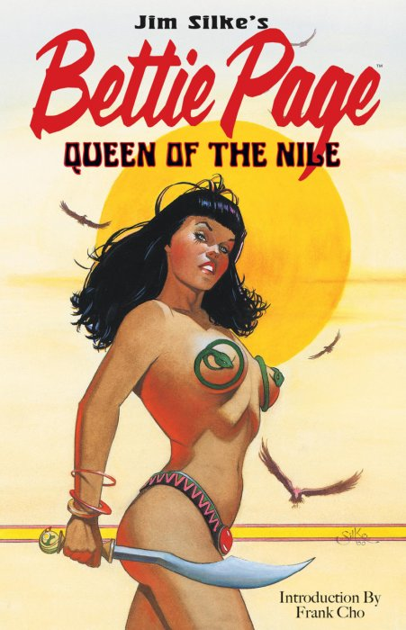 Bettie Page - Queen of the Nile #1 - TPB