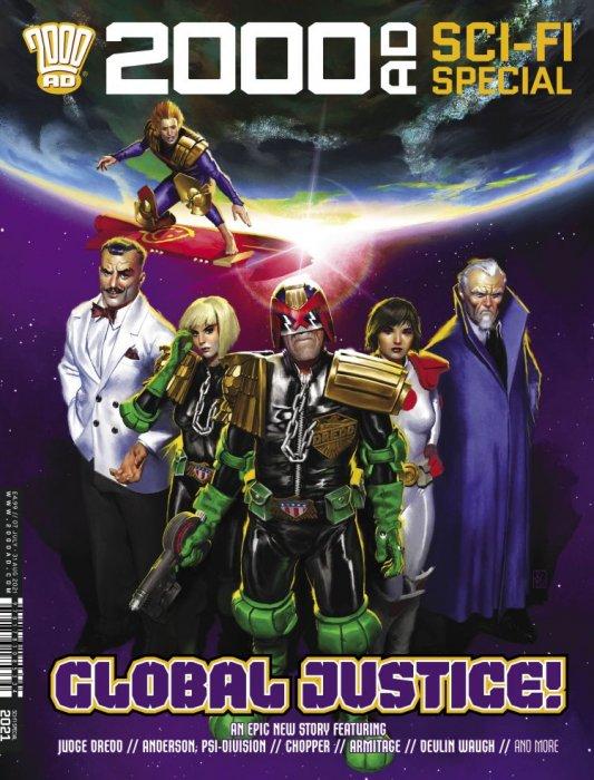 2000AD Sci-Fi Special 2021 #1