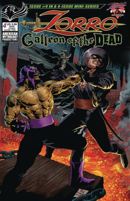 Zorro - Galleon of the Dead #4
