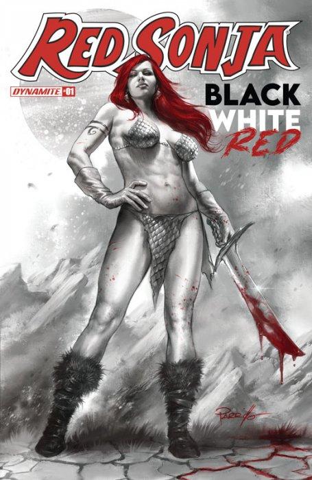 Red Sonja Black White Red #1