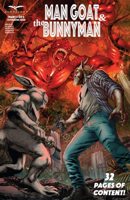Man Goat & The Bunnyman #3