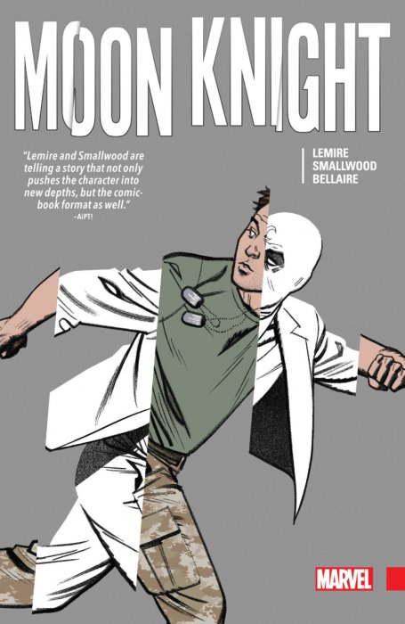 Moon Knight by Jeff Lemire & Greg Smallwood #1 - HC