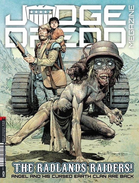 Judge Dredd Megazine #434