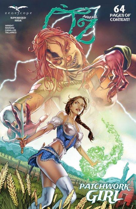 Oz Annual - Patchwork Girl #1
